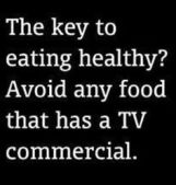 avoid tv foods